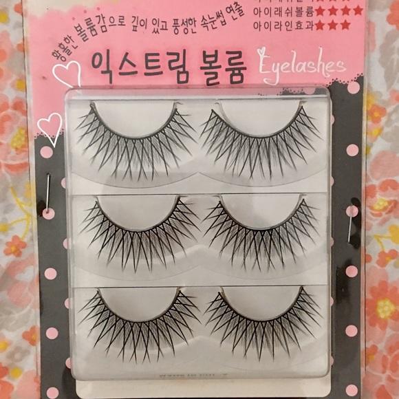 Makeup Korean Brand False Lashes Poshmark